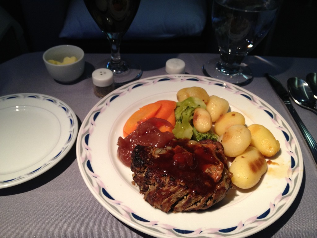 Main Course from Stuttgart to Newark
