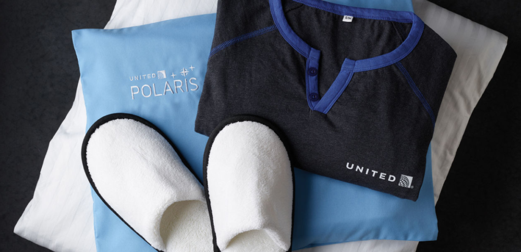 United Polaris Pillow, Slippers, and Pajamas