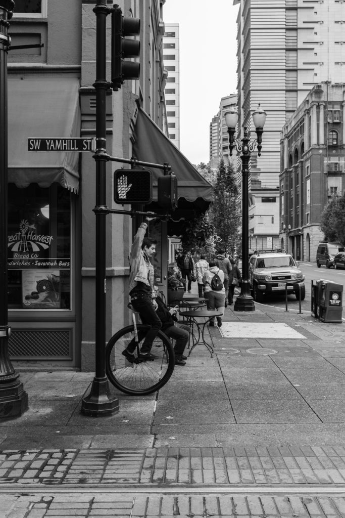 Portland Unicycle