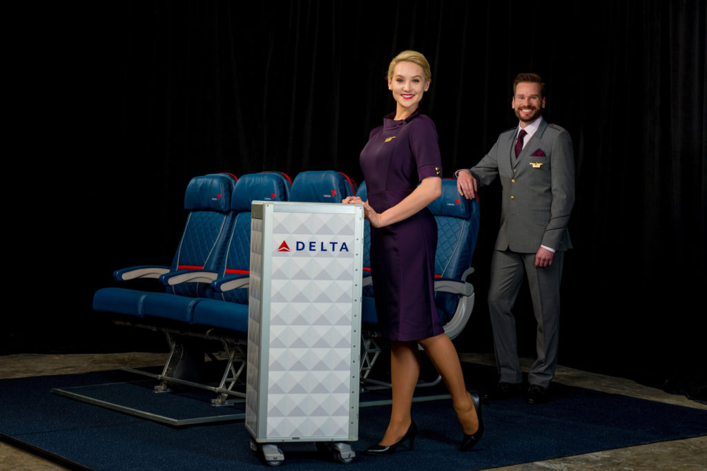 Delta Airlines New Uniforms 2